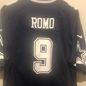 Nike Tops - Men's Nike Dallas Cowboys Tony Romo Jersey Navy #9